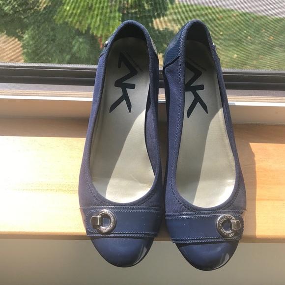 Anne Klein Sport Shoes - Anne Klein sport flats, navy blue!